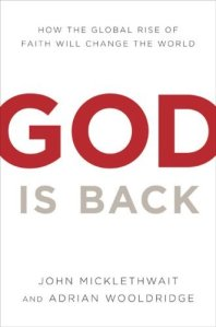 God is back book cover