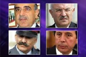 Four details generals, released